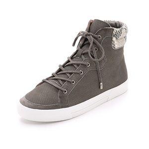 Joie Devon High Top Cinder Snake Sneakers